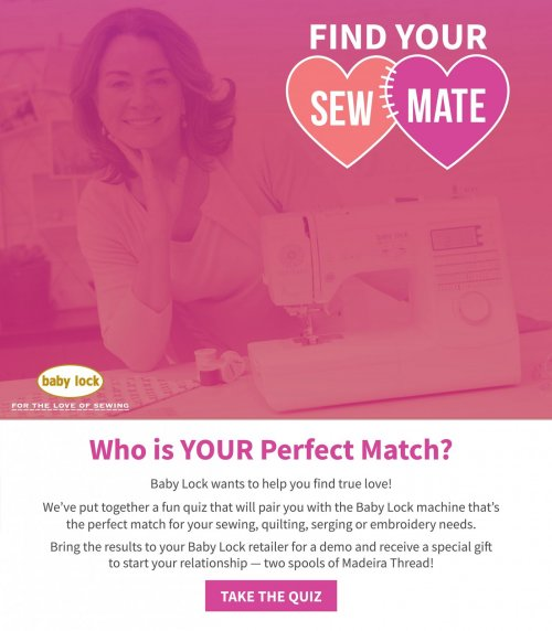 find your sew mate