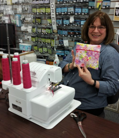 serger accessory bag project