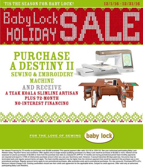Destiny December 2016 promotion