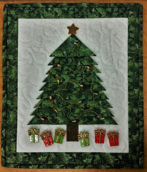 Tree Trimming sewing class