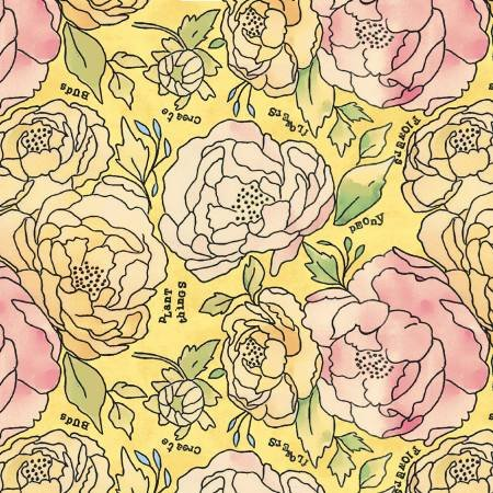 Sunshine Bed of Roses
