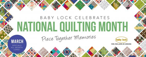 March National Quilting Month