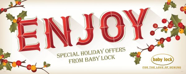 Baby Lock holiday sales