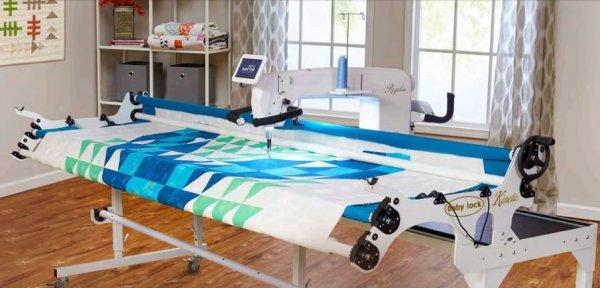 Regalia long arm quilt machine