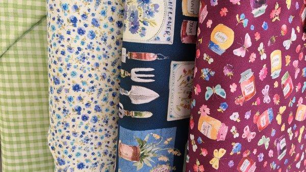 in the garden fabric michael miller