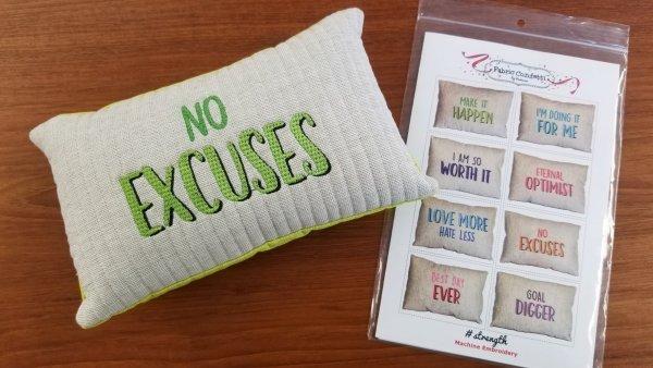 Vanessa Fromm strength pillows