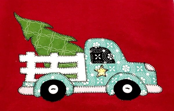 Beginning Applique Christmas Delivery