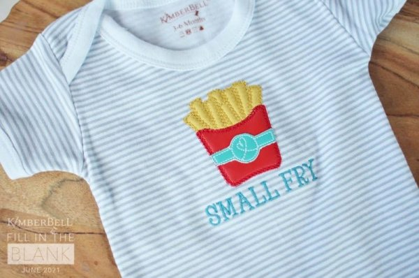 kimberbell baby bodysuits june fill in the blank small fry
