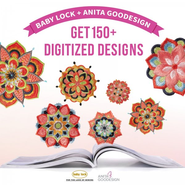 get 150 embroidery designs