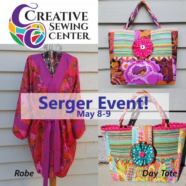 May serger event