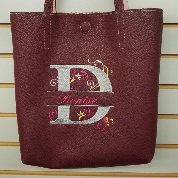 Destiny Club monogrammed bag