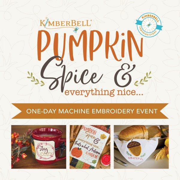 Pumpkin Spice event header