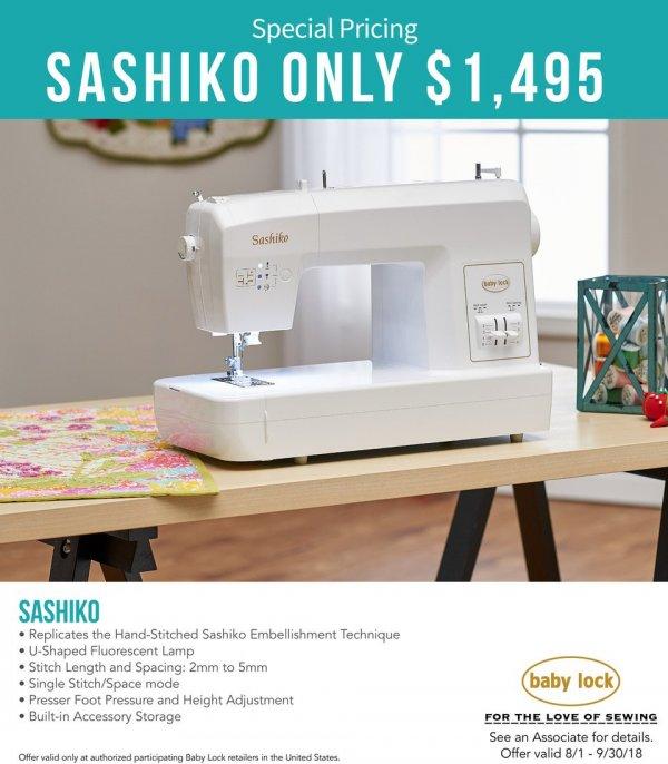 Sashiko Sep 2018