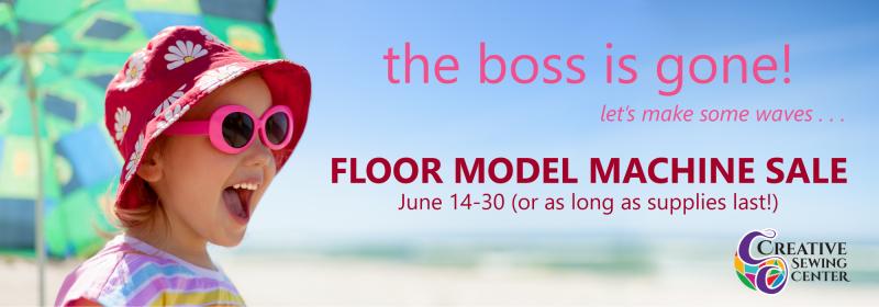floor model sale image