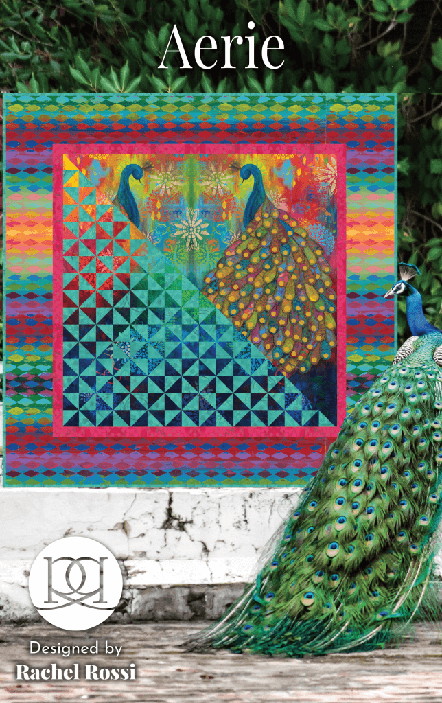 Aerie Quilt Kit (featuring Pizzaz fabric by Sue Penn)