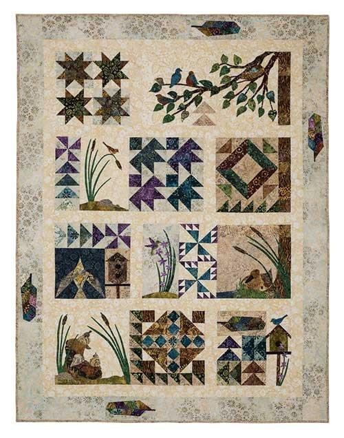 Bird Walk quilt