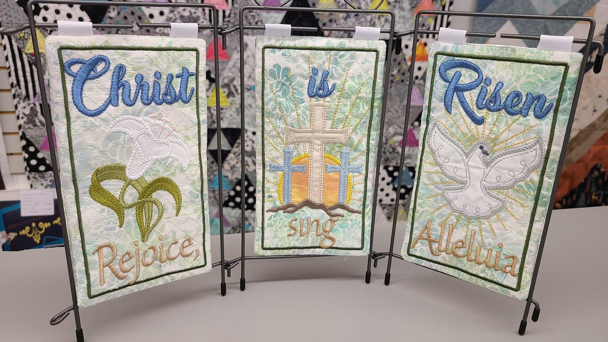 Christ is Risen Pre-cut Fabric Kit