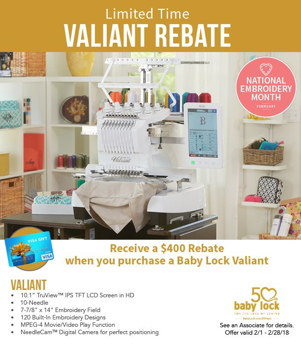Valiant rebate