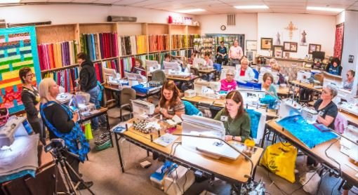 free motion quilting event