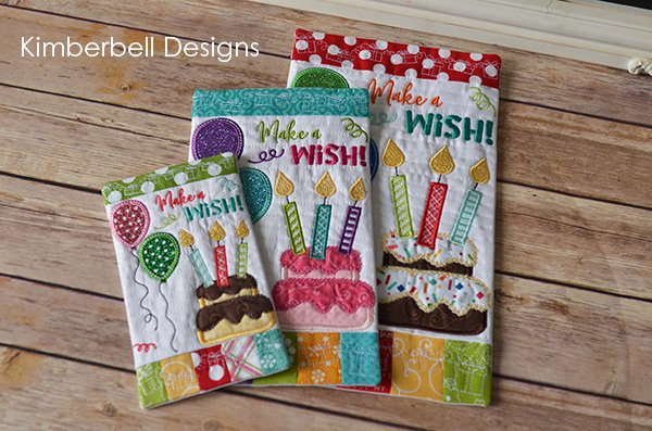 Happy Birthday Mini Wall Hangings 3 sizes