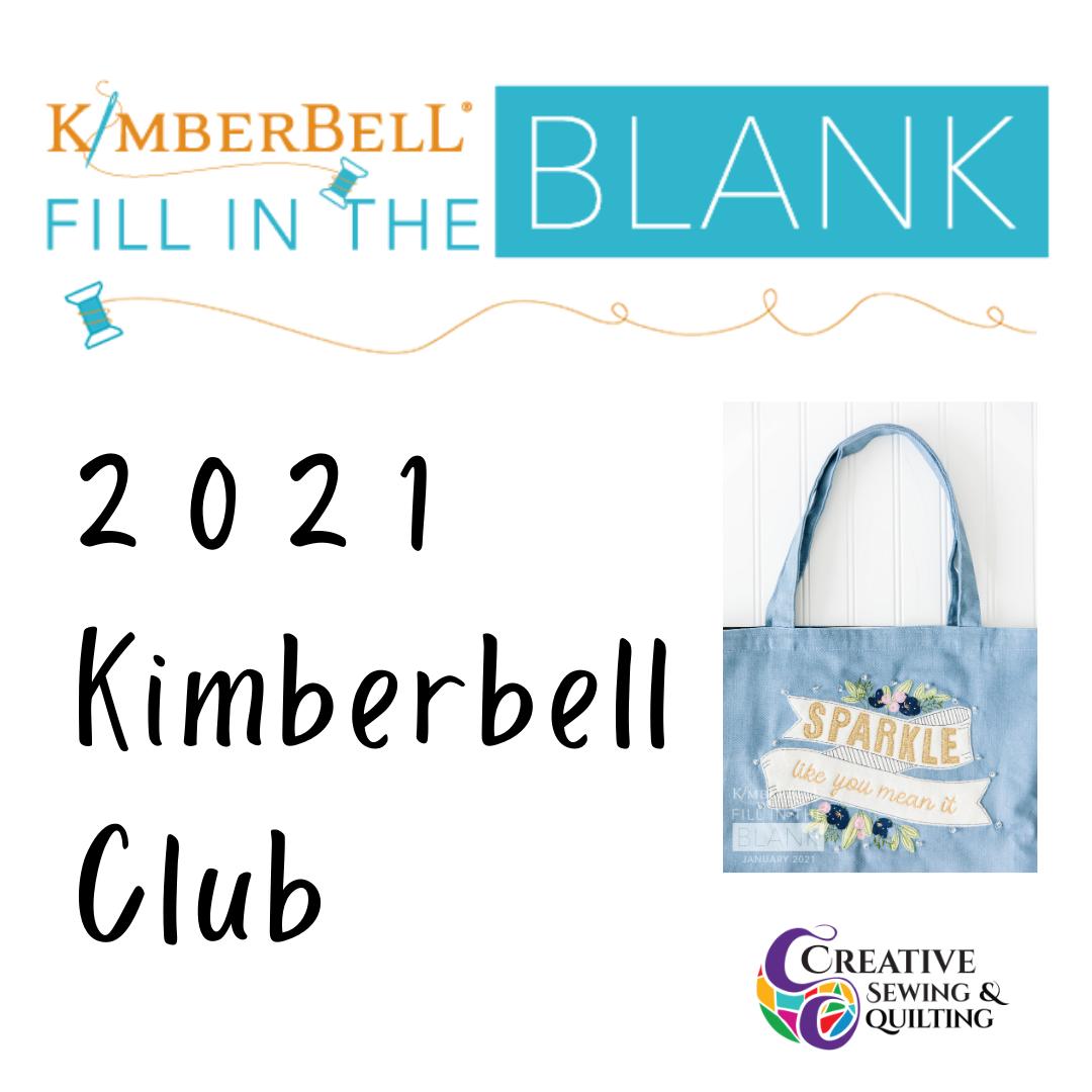 2021 Kimberbell Club Membership: Fill in the Blank Program
