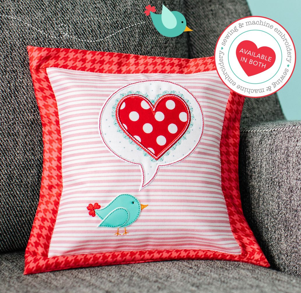 A Little Birdie Told Me petite pillow kit