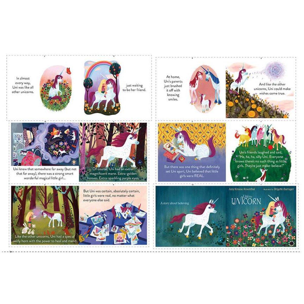 Uni the Unicorn Softbook Panel (24 panel)