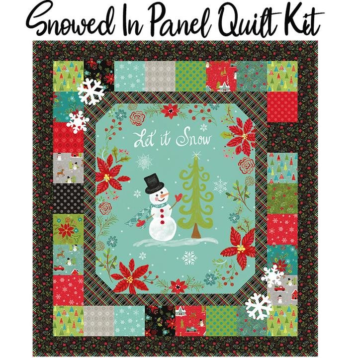Snowed In Panel Quilt Kit (Pattern Included)