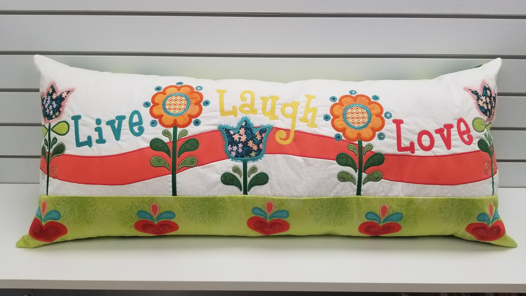 Spring Love Pillow FABRIC Kit (plus pattern)