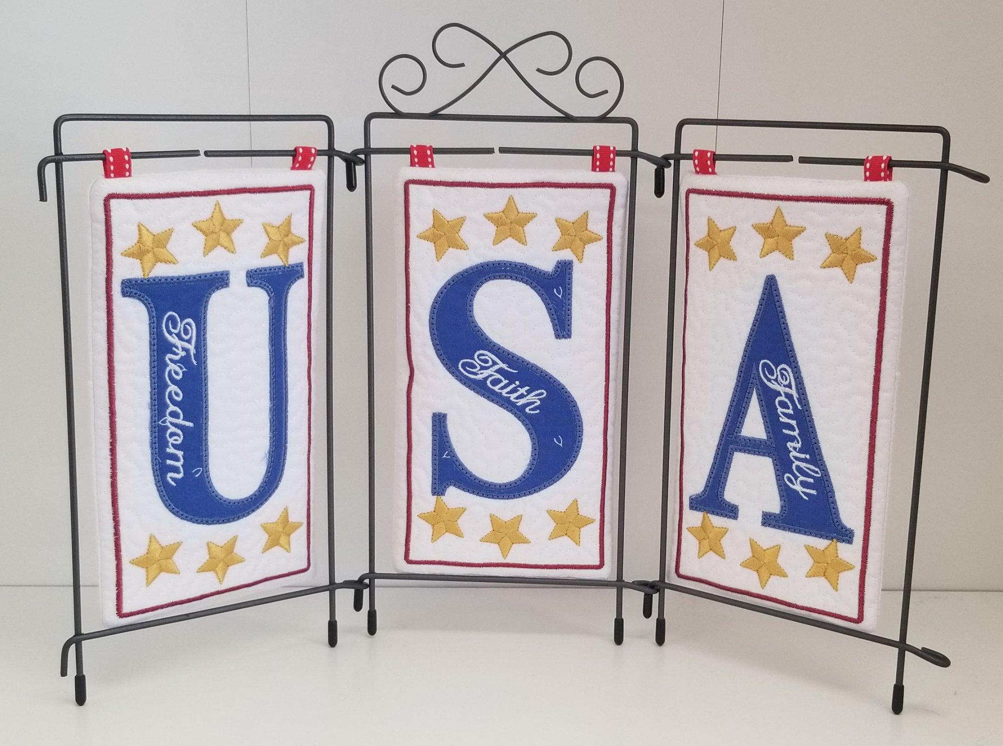 USA Fabric Kit