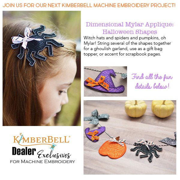 Kimberbell Club Halloween Shapes