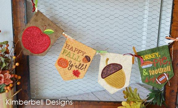 Kimberbell Happy Fall all designs