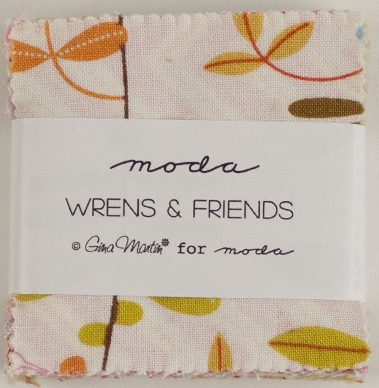 Wrens & Friends- Mini Charm