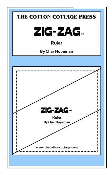 Zig-Zag Ruler /Large
