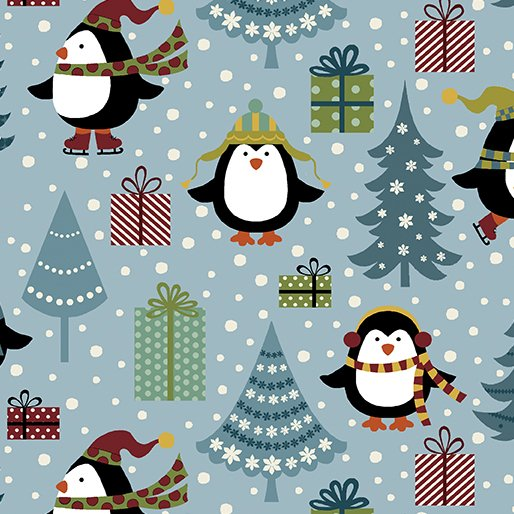 Jolly Penguin Flannel