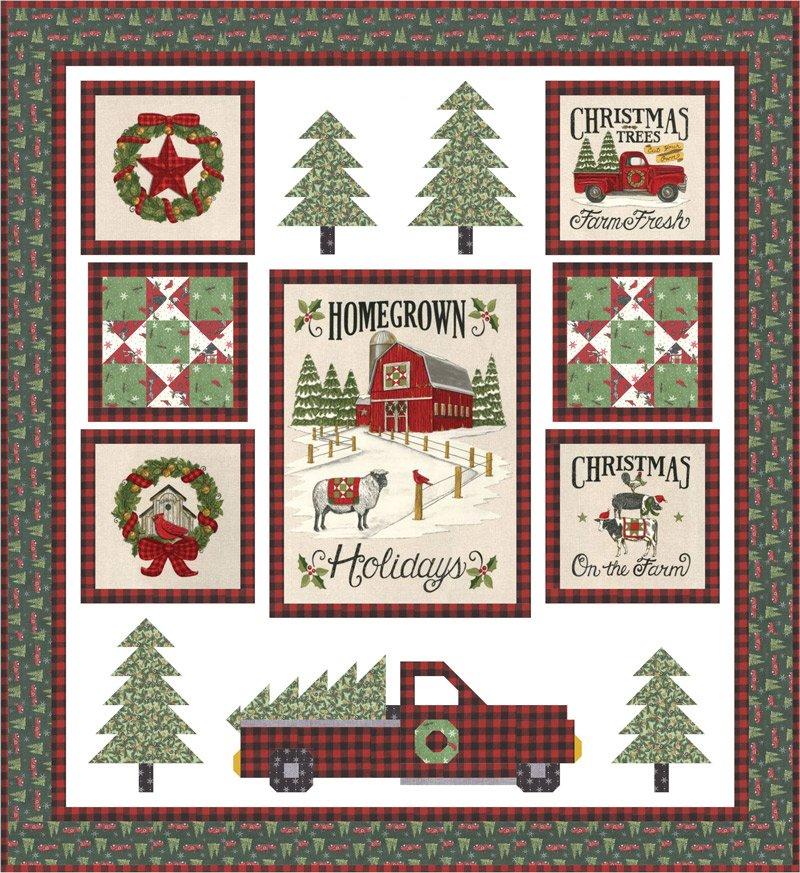 Homegrown Holidays Quilt Kit