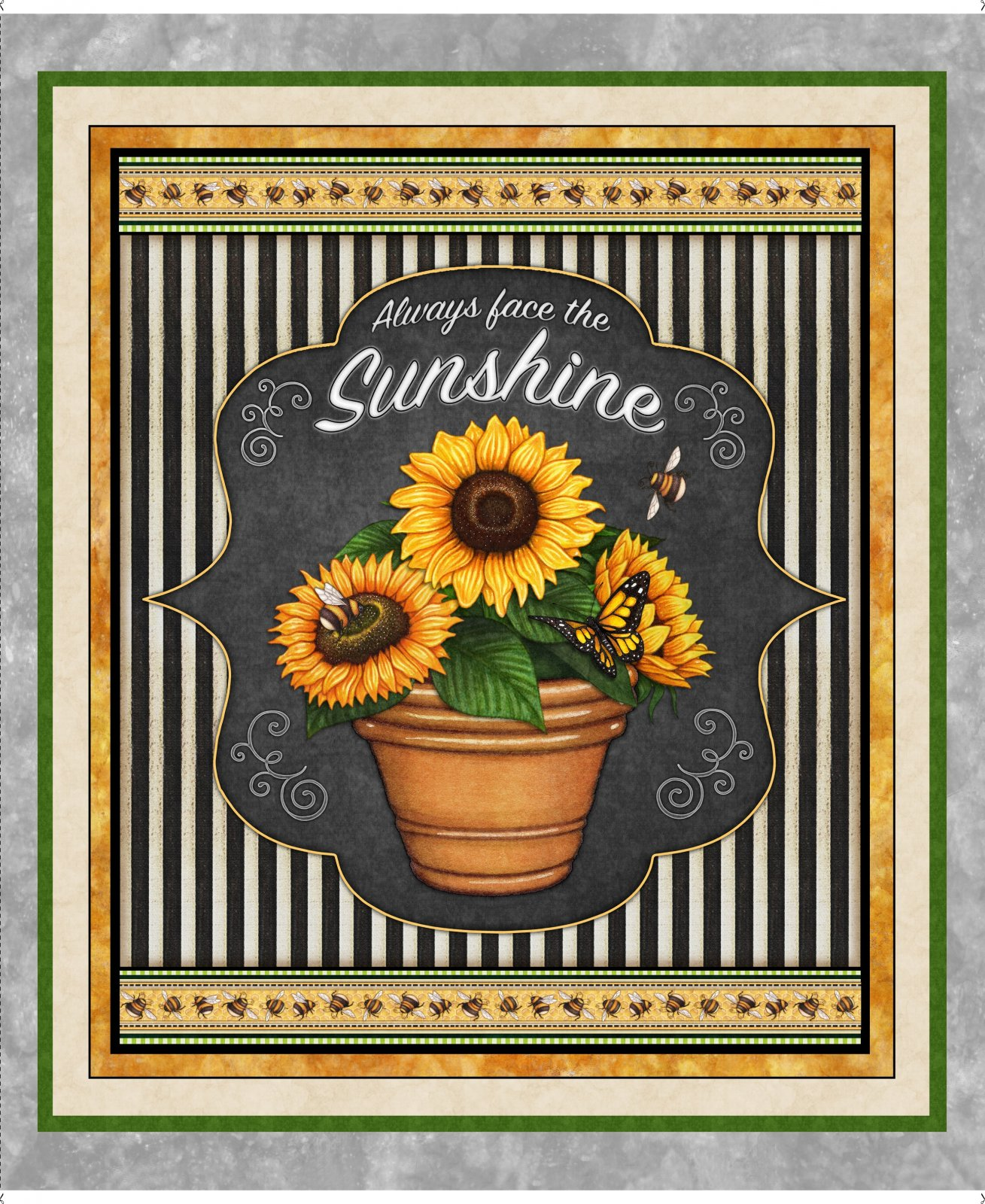 Always Face the Sunshine 27842-K