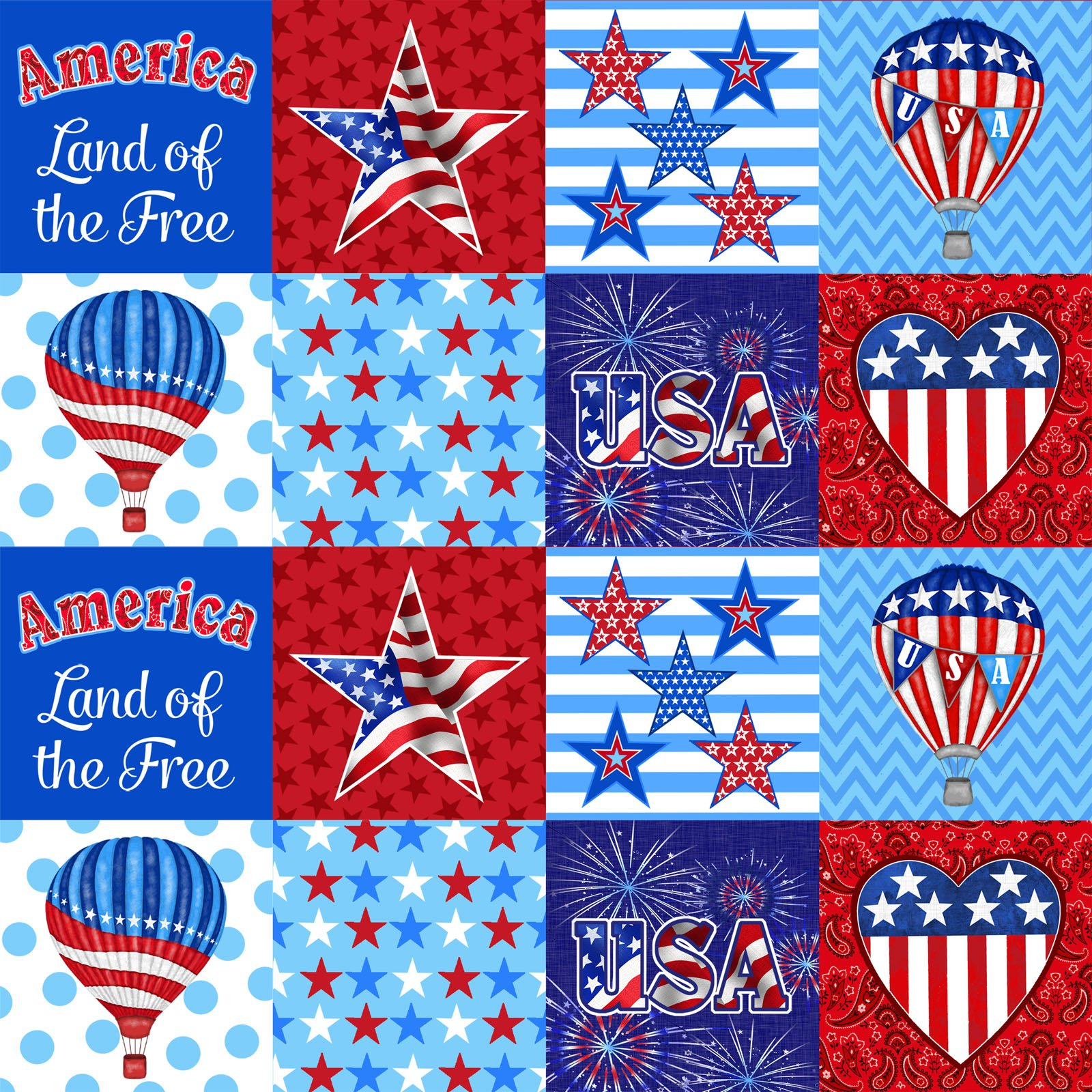 America Home of the Brave  4621-87