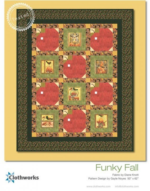Funky Fall Quilt Kit