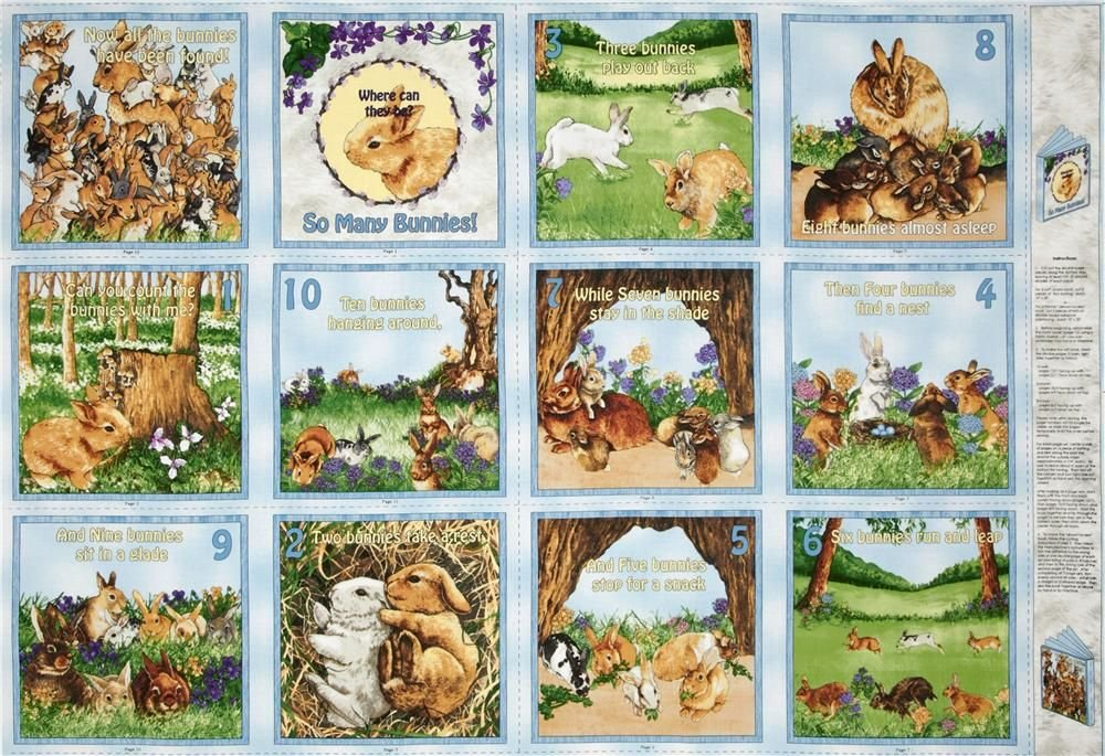 So Many Bunnies Panel