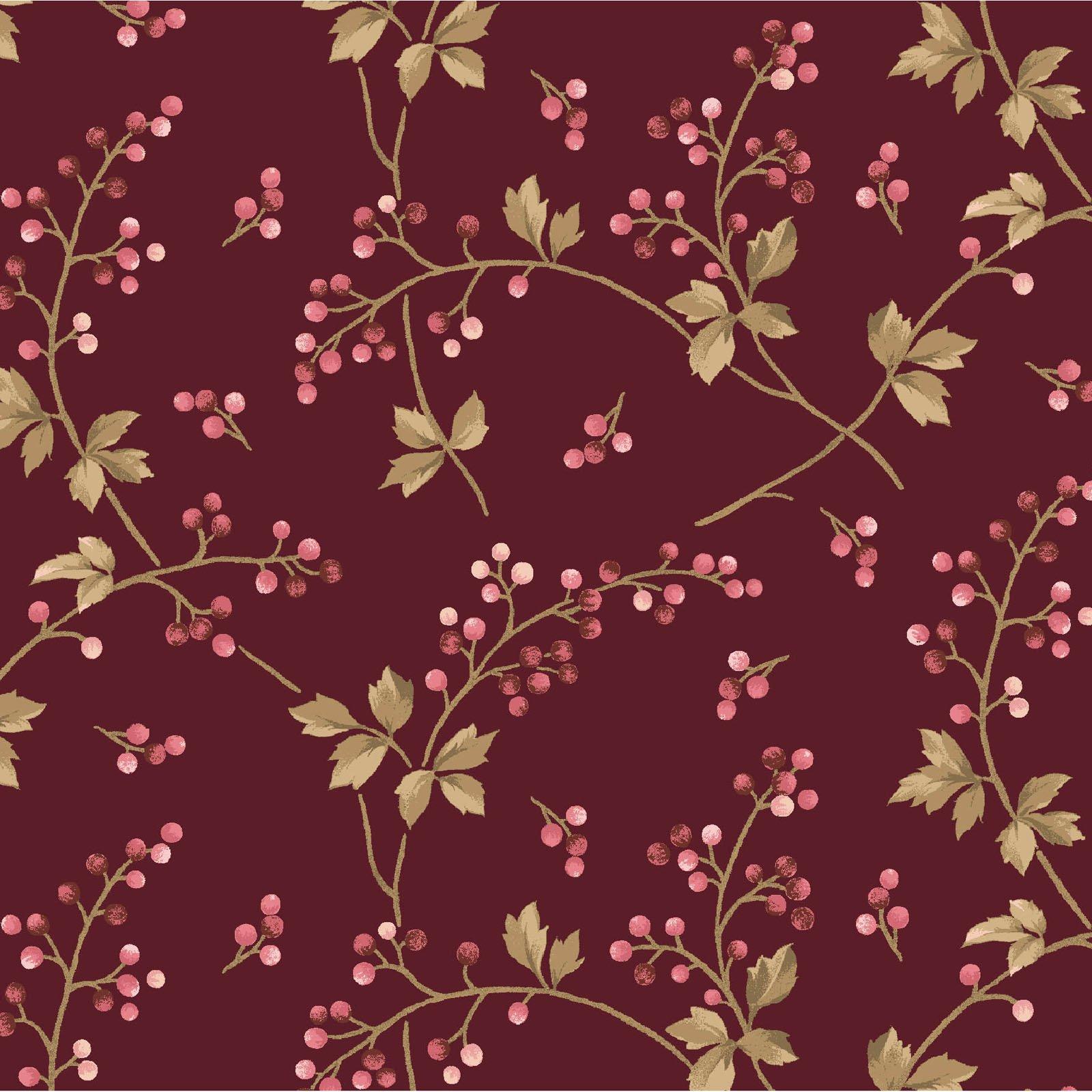 Burgundy & Blush  9363-M