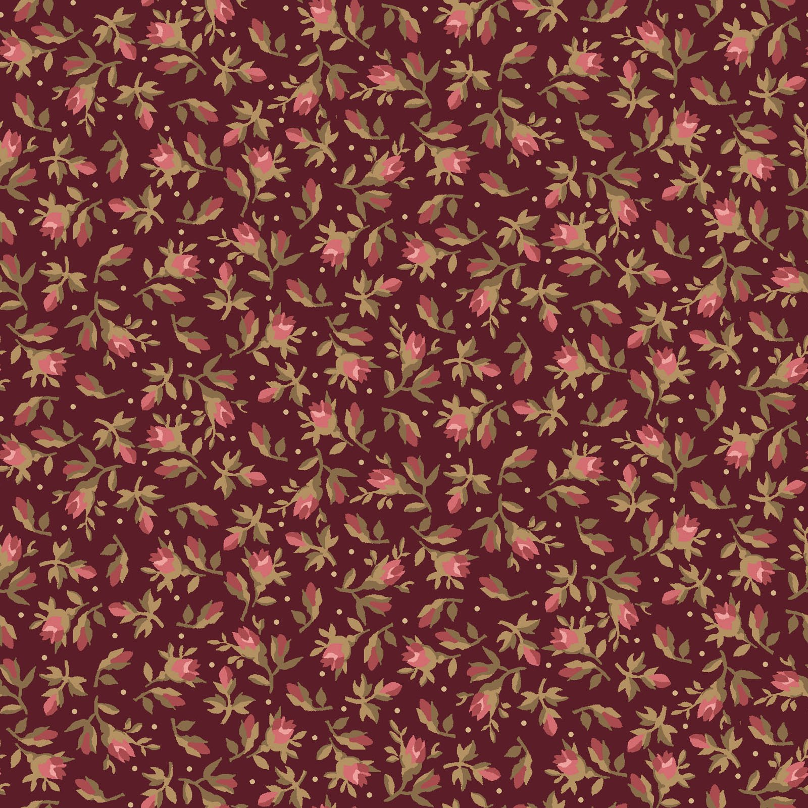 Burgundy & Blush  9364-M