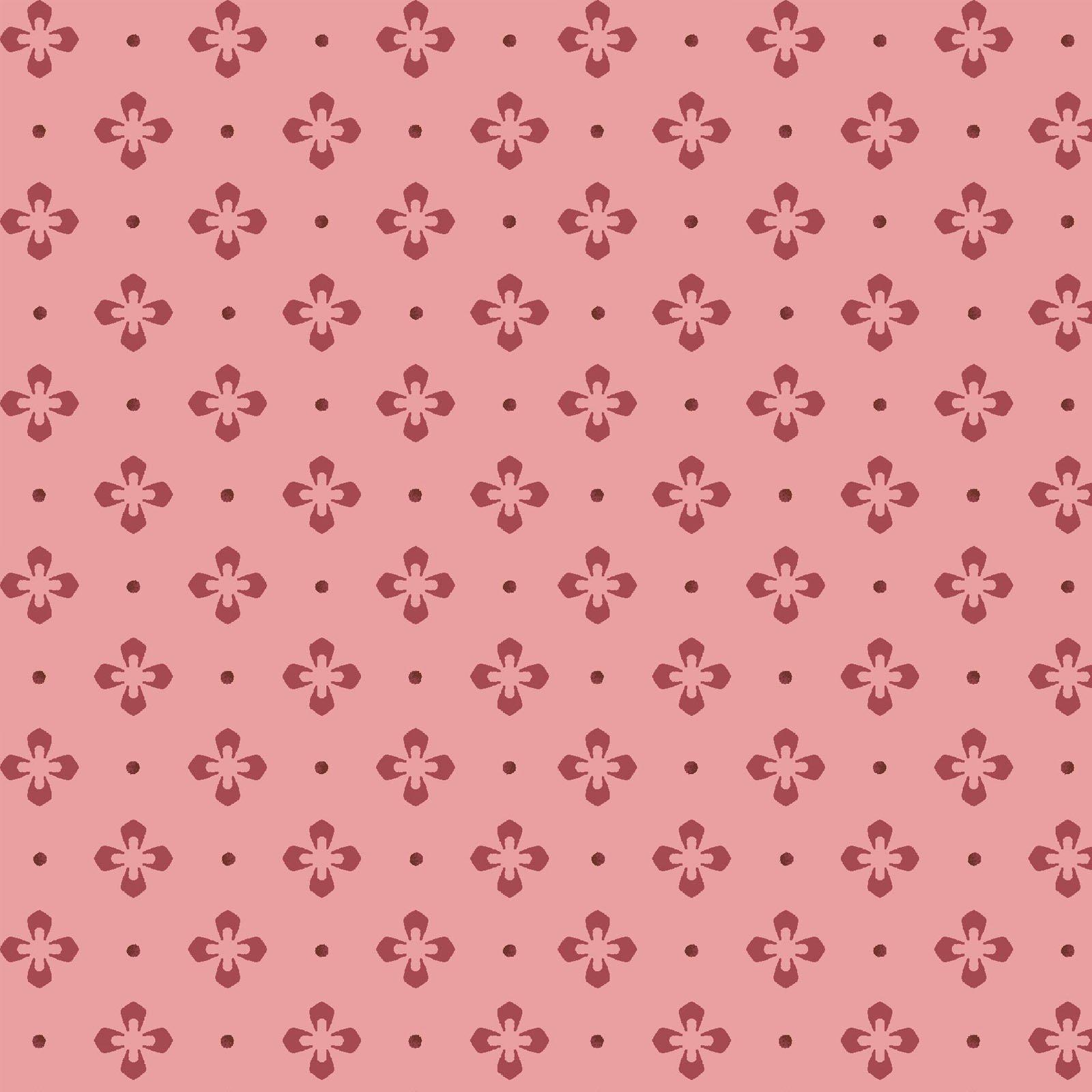 Burgundy & Blush  9366-P