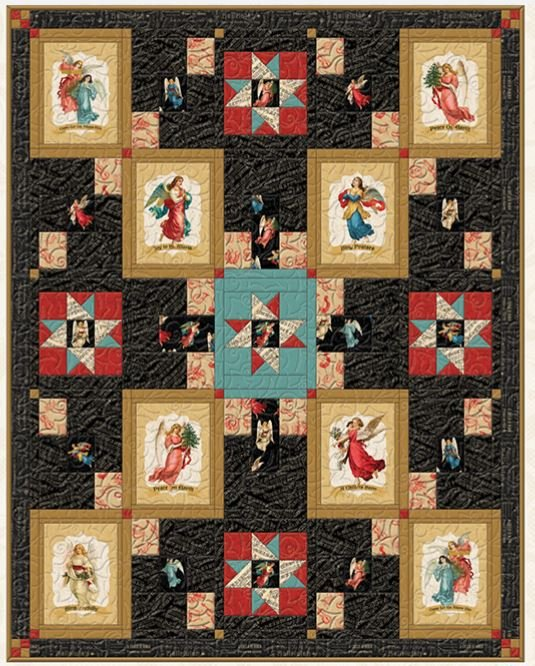 Angel Song Throw/Quilt Kit