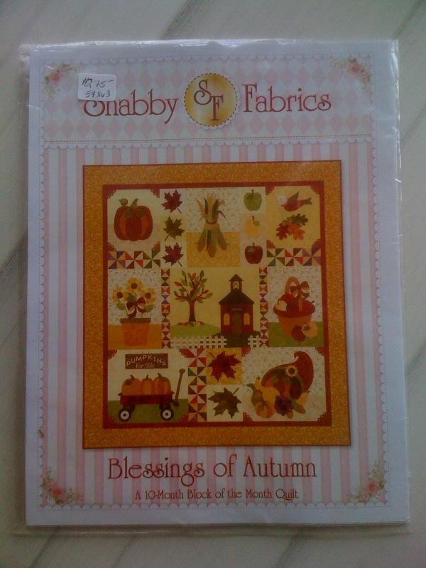 Blessings of Autumn Quilt Kit
