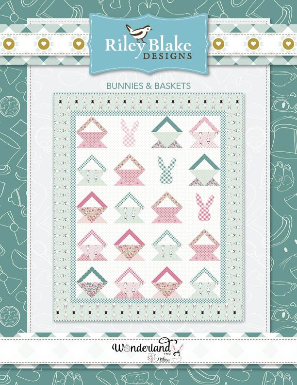 Bunnies and Baskets Quilt Kit