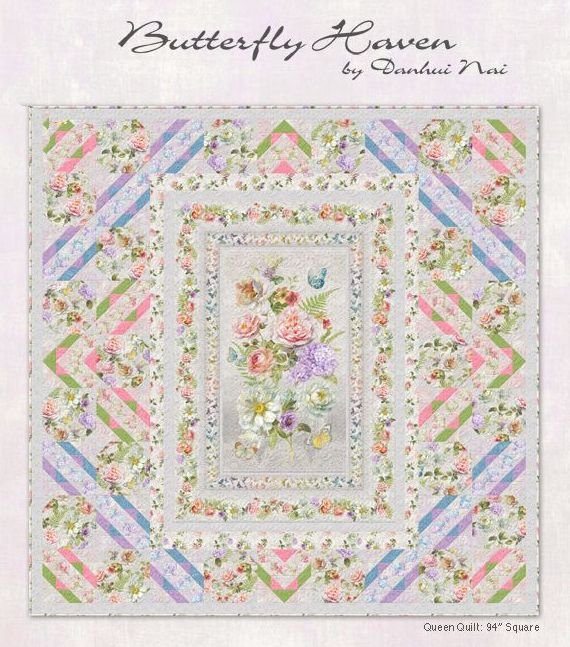 Butterfly Haven Quilt Kit