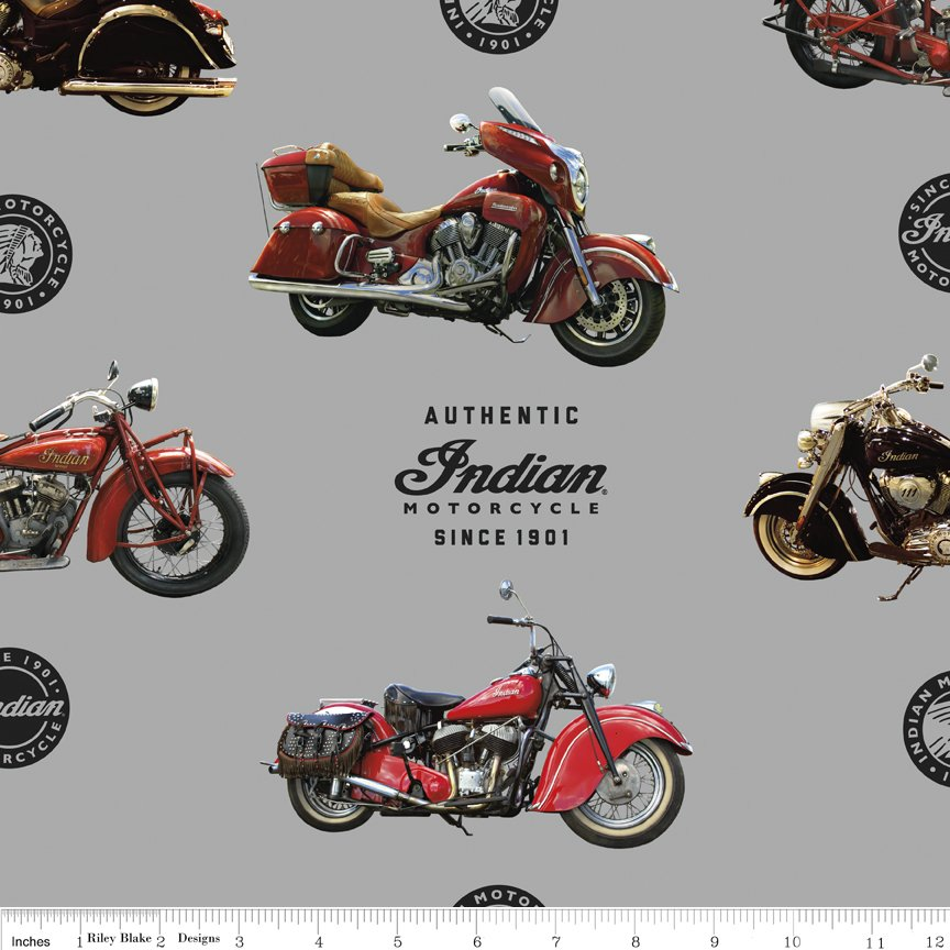 Indian Motorcycle  C7380-GRAY