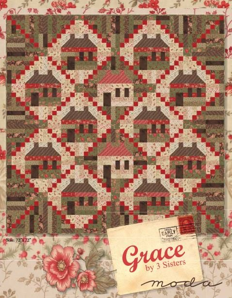 Grace Quilt Kit featuring Grace from My 3 Sisters