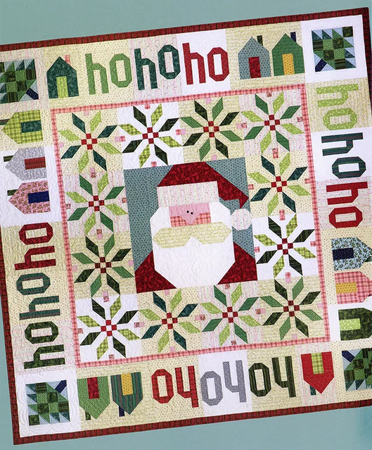 Santa Claus is Coming Quilt Kit